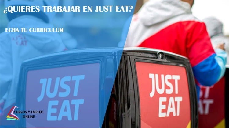 trabajar en just eat