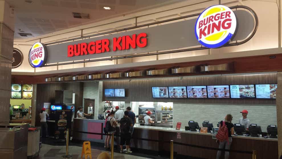 trabajar en burger king
